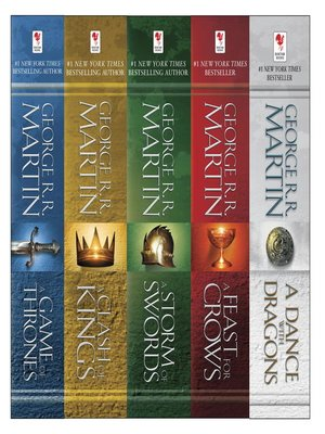 cover image of A Game of Thrones 5-Book Bundle